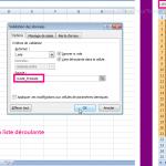 Comment créer une liste déroulante avec Excel ?